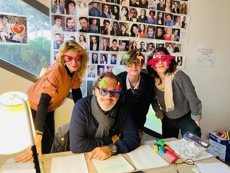 Thierry Peythieu, le mari d'Ingrid Chavin, a décidé de déguiser ses équipes. Et les acteurs aussi ?