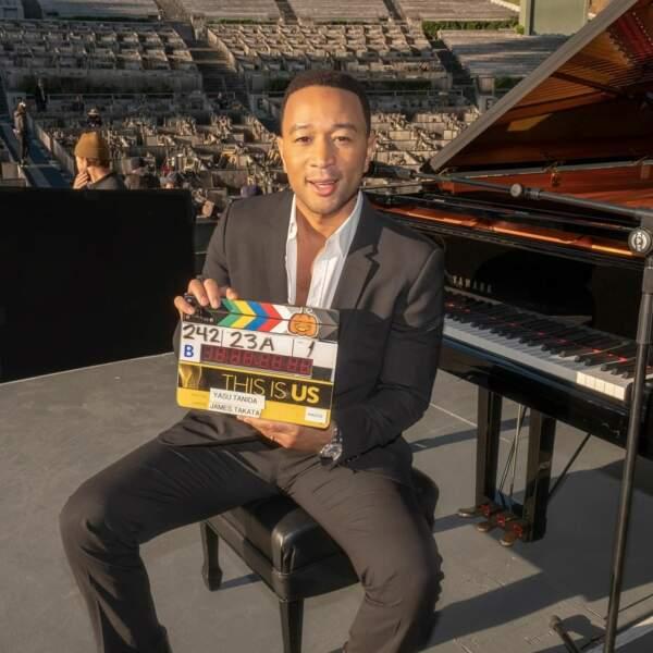 John Legend, en tout cas, est prêt à pousser la chansonnette