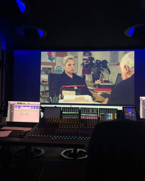 Laurence Boccolini est en pleine post-production pour son épisode de Mongeville