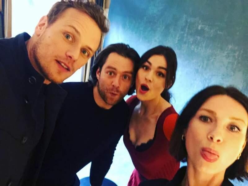 Les acteurs d'Outlander adorent se prendre en selfie !