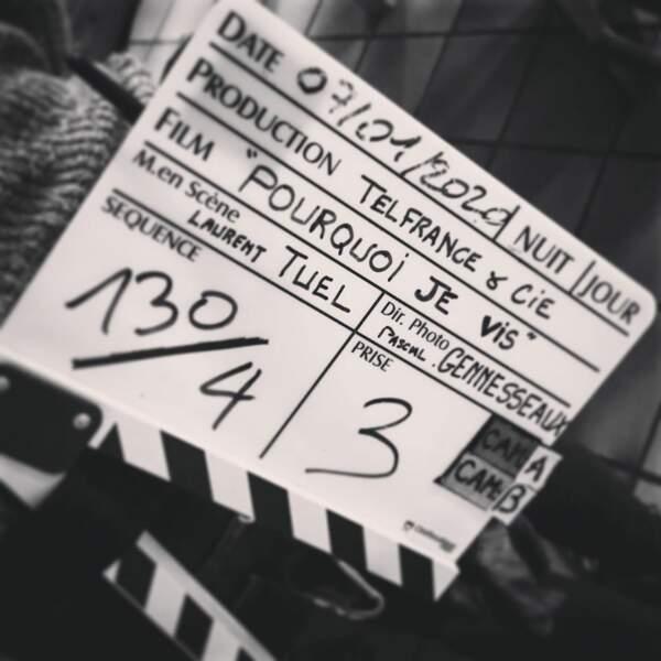 Clap de début de tournage pour Pourquoi je vis, le biopic sur Grégory Lemarchal