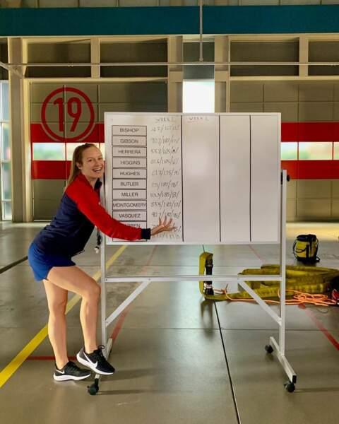 Maya Bishop (Danielle Savre) sera-t-elle à la hauteur de son nouveau poste de Capitaine des pompiers ?