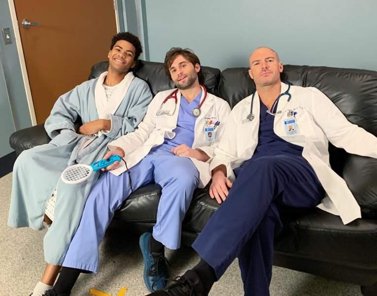 Visiblement, tourner dans Grey's Anatomy, c'est épuisant !
