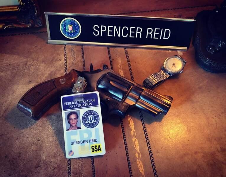 Ça y est, Spencer Reid a définitivement raccroché, avec le tout dernier épisode d'Esprits criminels
