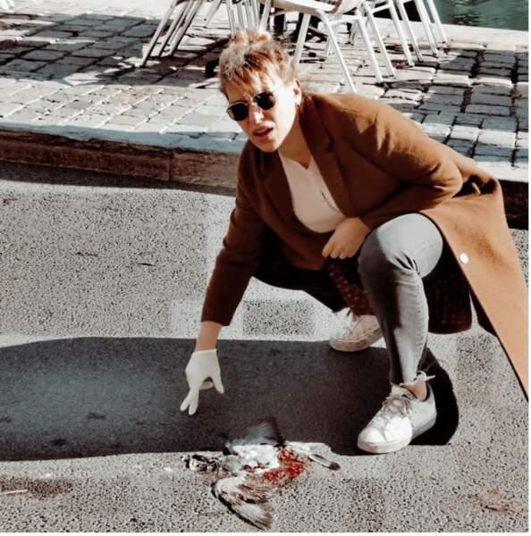 Nouvelle arche d'Aurore Jacob dans DNA  : Mais qui a tué le pigeon ?