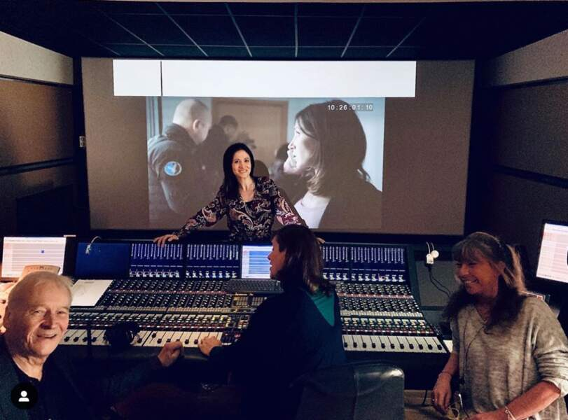 Fabienne Carat a fini la post production de Sections de recherche