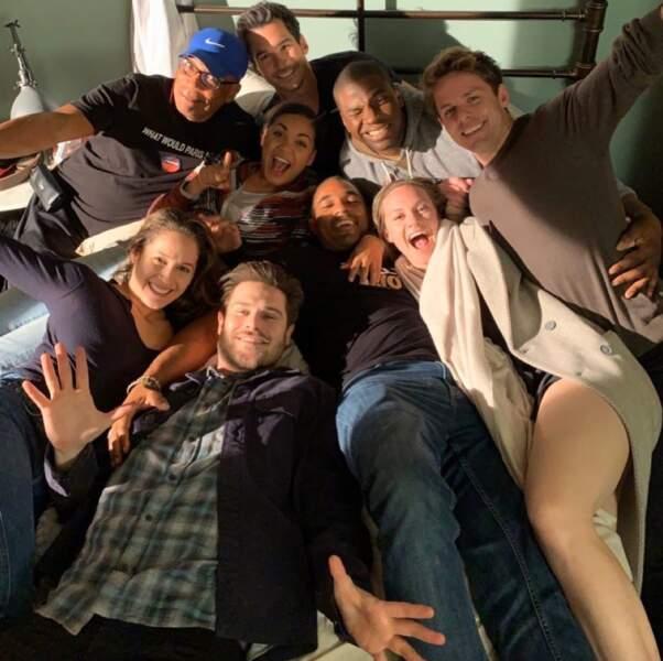 Les acteurs de Station 19 sont en pause !