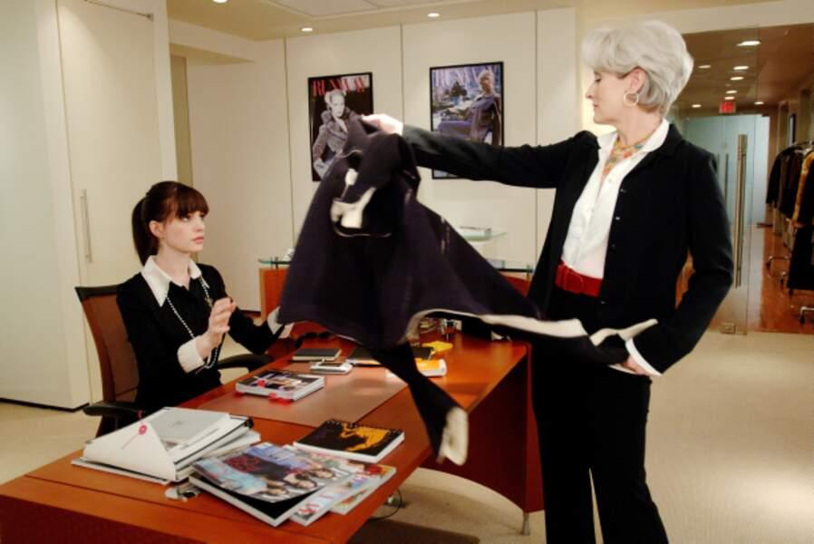 Assistante souffre-douleur de Meryl Streep dans Le Diable s'habille en Prada (2006)