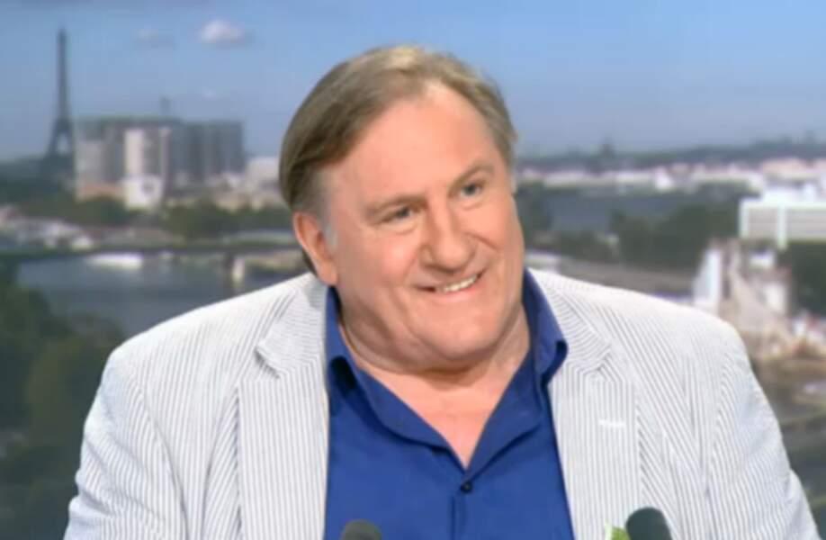Gérard Depardieu : 1 million d'euros