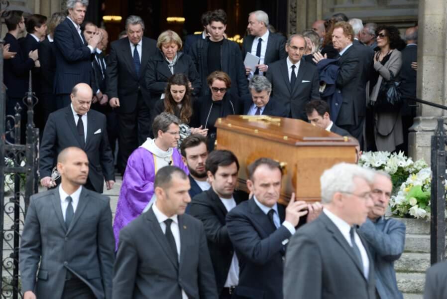 Les obsèques de Patrice Dominguez en la basilique Sainte Clotilde  