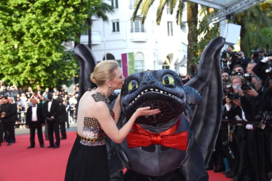 Cate Blanchett et le dragon