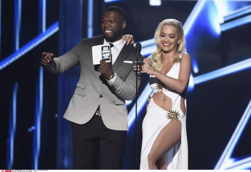 50 Cent et Rita Ora