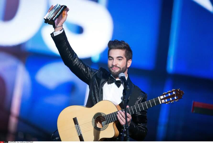 Consécration pour le gagnant de The Voice 3, qui a remporté 2 trophées