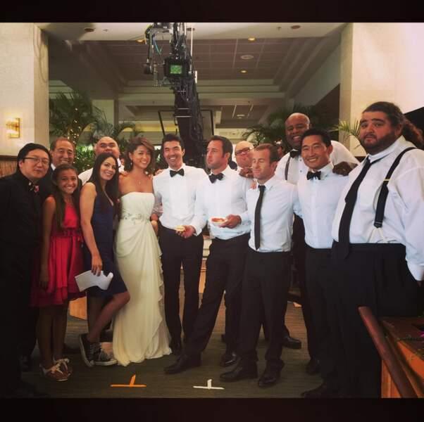 Toute la bande de Hawaii 5-0 a ressorti ses habits de fête. Pour le mariage de Kono ?