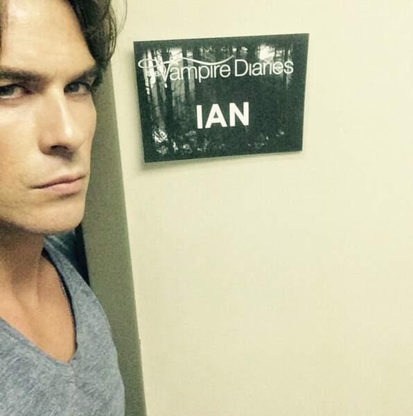 Vampire Diaries : Ian Somerhalder est de retour dans la loge de Damon