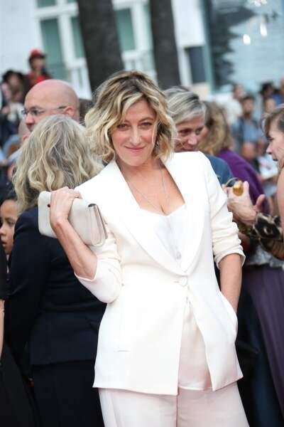 Valeria Bruni Tedeschi, joueuse, sur le dernier tapis rouge de Cannes 2015