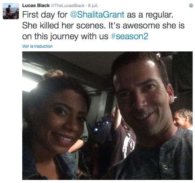 L'actrice Shalita Grant a rejoint l'équipe de NCIS : Nouvelle-Orléans et semble déjà bien intégrée
