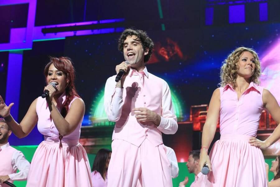 Amel Bent, Mika et Lorie