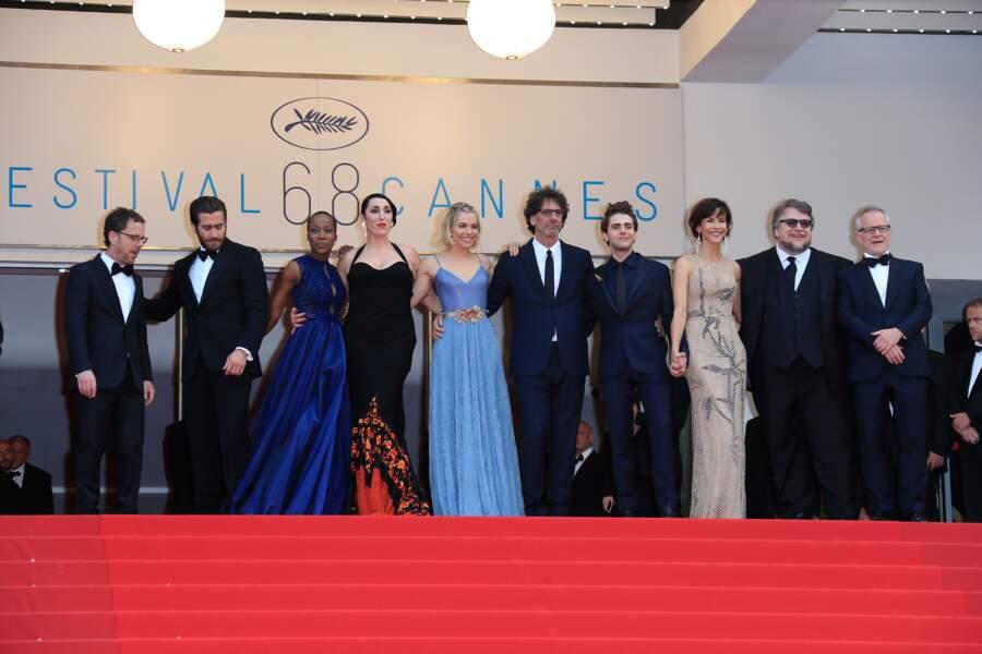 Le jury du 68e Festival de Cannes