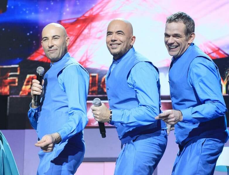 Nicolas Canteloup, Pascal Obispo et Garou