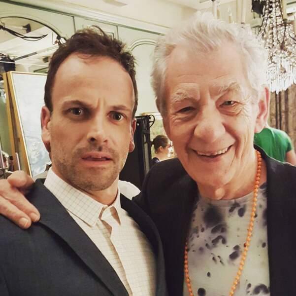 L'acteur a été ravi de rencontrer Ian McKellen sur le tournage
