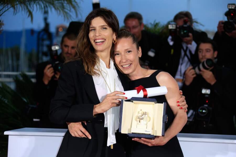 Emmanuelle Bercot et Maïwenn, réalisatrice de Mon Roi