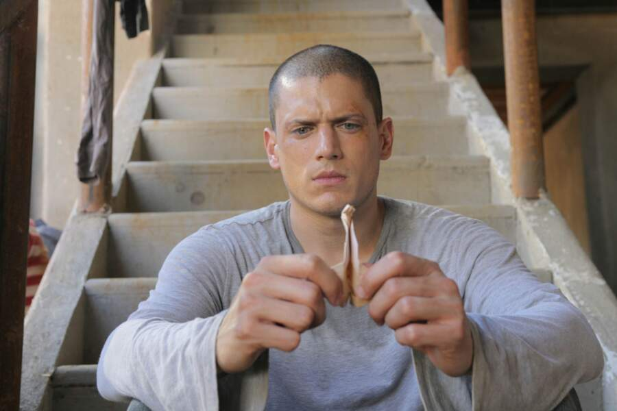 Wenthworth Miller, alias Michael Scofield, le héros de Prison Break