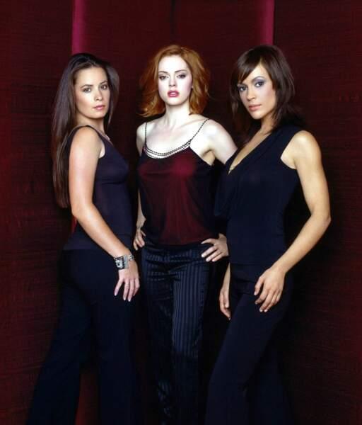 Rose McGowan a complété un trio de charme