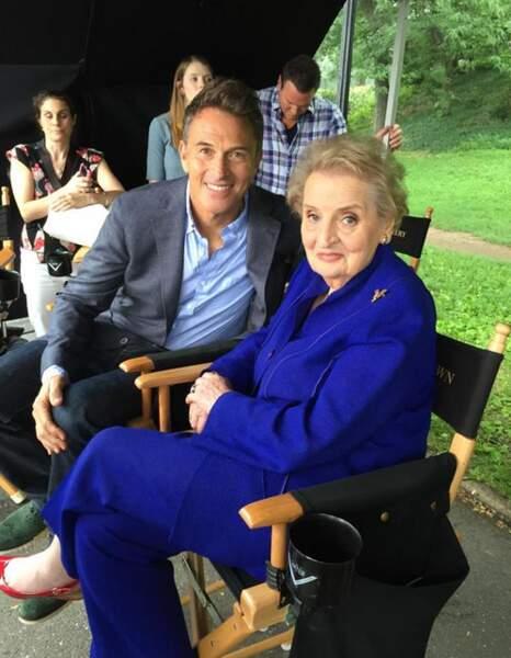Elle a retrouvé l'acteur Tim Daly, dont elle était fan dans Private Practice. Si, si !