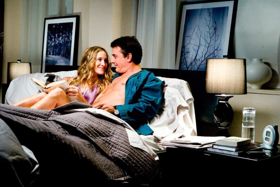 Le temps passe et Carrie vit enfin sa love story aux côtés de Mr Big dans le premier film Sex and The City (2008)