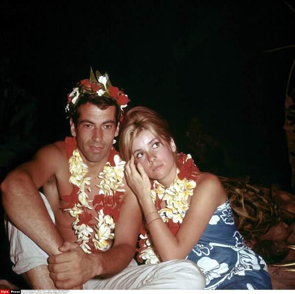 En 1962, Catherine Deneuve rencontre le cinéaste Roger Vadim à une soirée