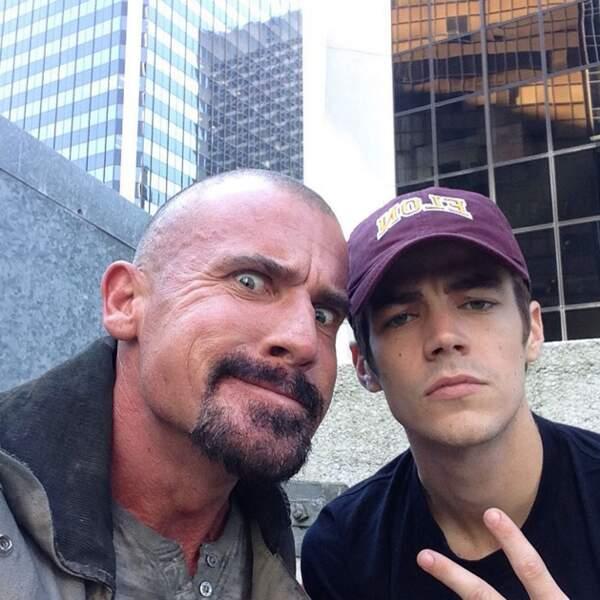 Dominic Purcell, ravi de revenir dans la saison 2 de Flash, mais un peu effrayant quand même