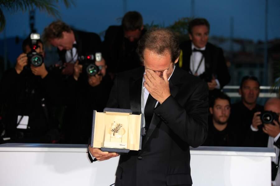 Vincent Lindon, bouleversé par son prix d'interprétation masculine à Cannes