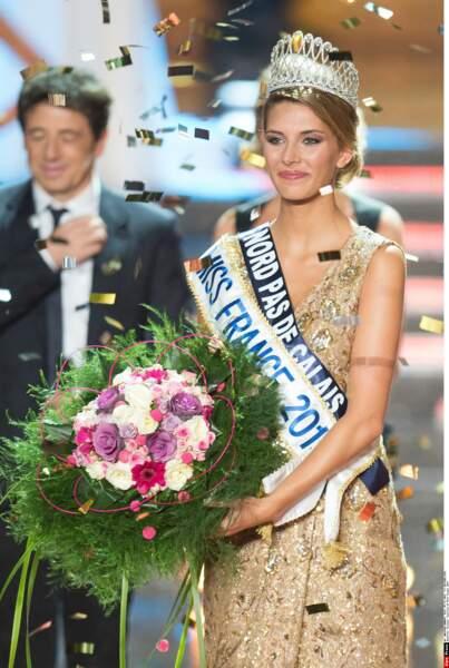 Nous souhaitons une belle année à Camille Cerf, la Miss France 2015 !