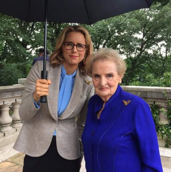 Madam Secretary reçoit une invitée d'honneur : l'ancienne secrétaire d'Etat Madeleine Albright