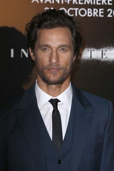 Après Londres, direction Paris pour Matthew McConaughey