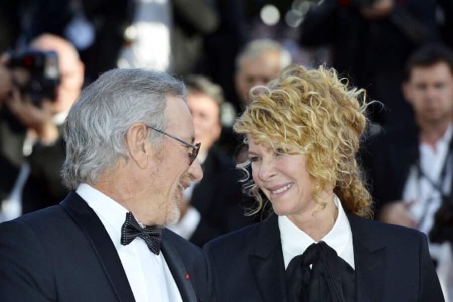 Steven Spielberg et sa compagne Kate Capshaw