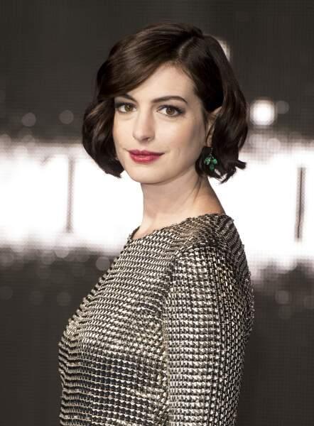 Anne Hathaway à l'avant-première d'Interstellar à Londres