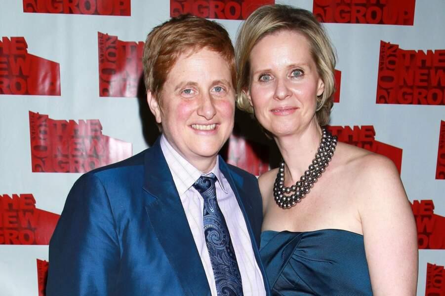 Cynthia Nixon a épousé sa compagne Christine Marinoni en 2012