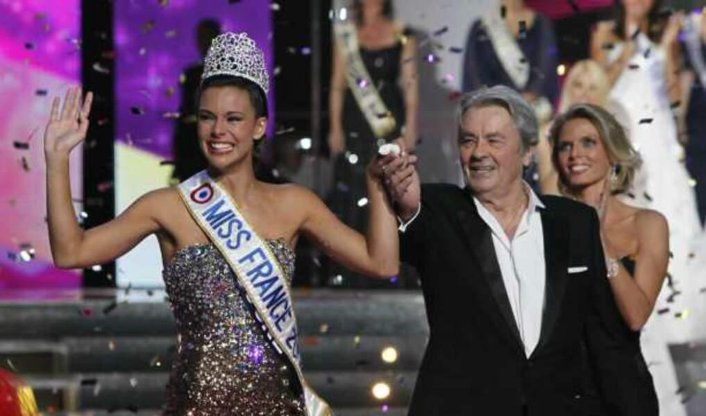 Alain Delon et Miss France