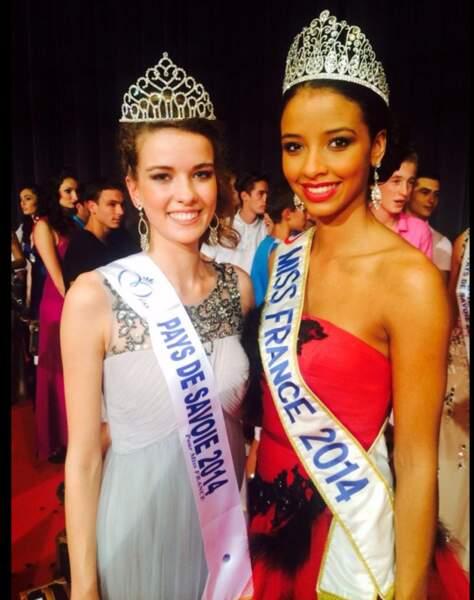 Aurore Peron est Miss Pays de Savoie 2014