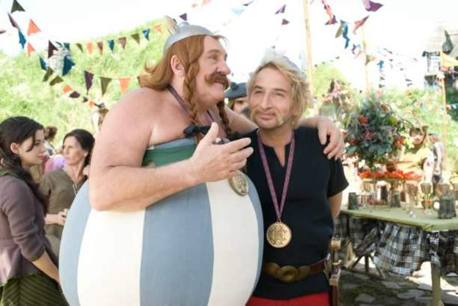 Astérix et Obélix au service de sa majesté (Laurent Tirard, 2012) : avec Edouard Baer