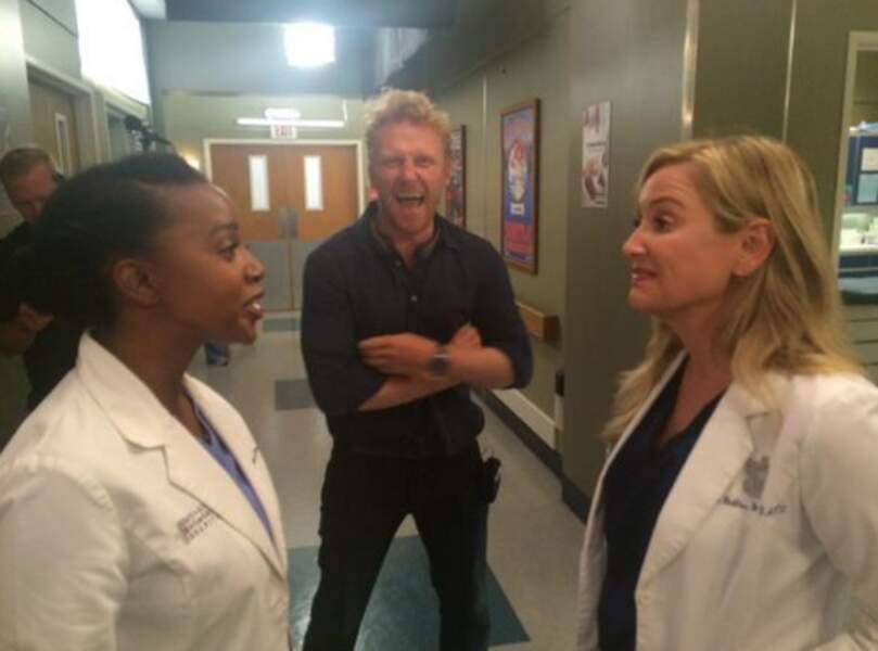 Il y a de l'ambiance dans les couloirs de Grey's Anatomy