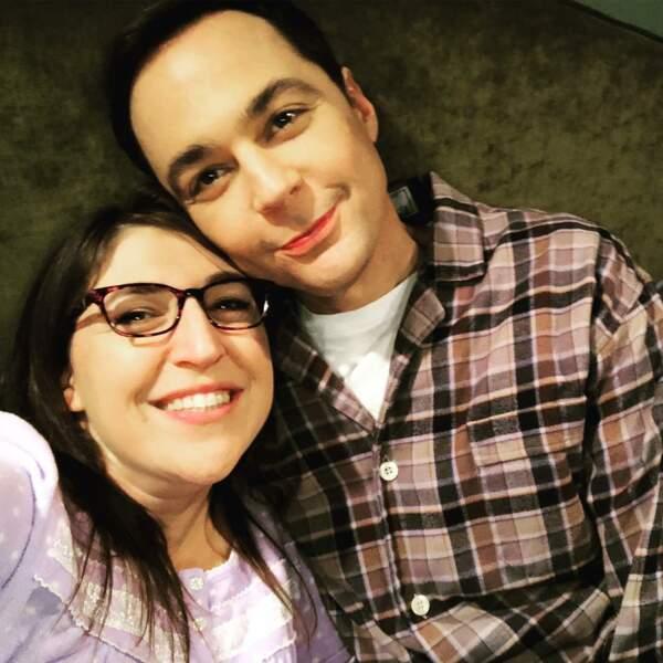 Mayim Bialik et Jim Parsons, les héros de The Big Bang Theory, sont au diapason