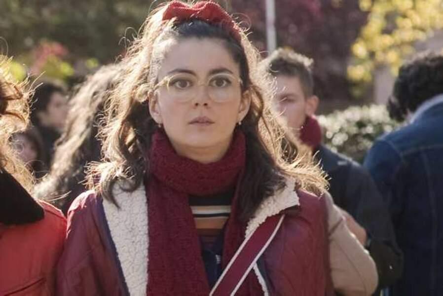 Julia Faure, dans Camille redouble (Meilleur espoir féminin)