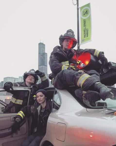 Pas mieux pour les pompiers de Chicago Fire. Qu'ont imaginé les scénaristes pour mettre les acteurs dans cet état ?
