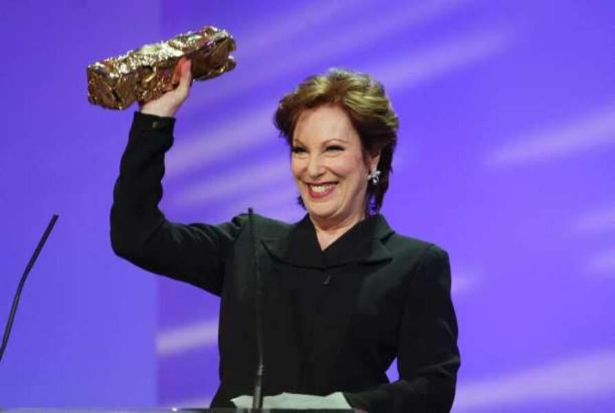 En 2003, Bernadette Lafont recevait un César d'honneur