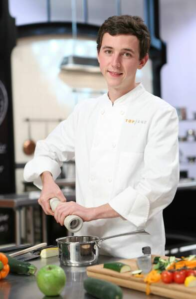 Martin Volkaerts, 23 ans, Genval (Belgique) - chef à L'Amandier