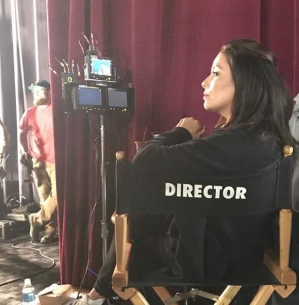 Eva Longoria dans la chaise du réalisateur... Que nous prépare-t-elle ?