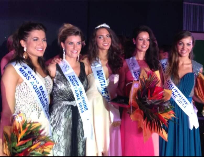 Malaurie Eugènie est Miss Aquitaine 2014